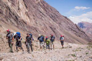 Trekking to Confluencia