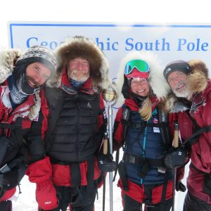 Celebrating a successful South Pole Expedition