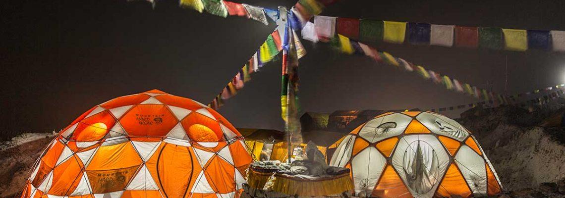Everest Expedition Base camp