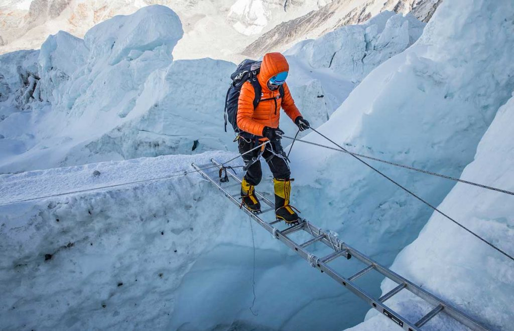 Everest Expedition Khumbu Ice Fall