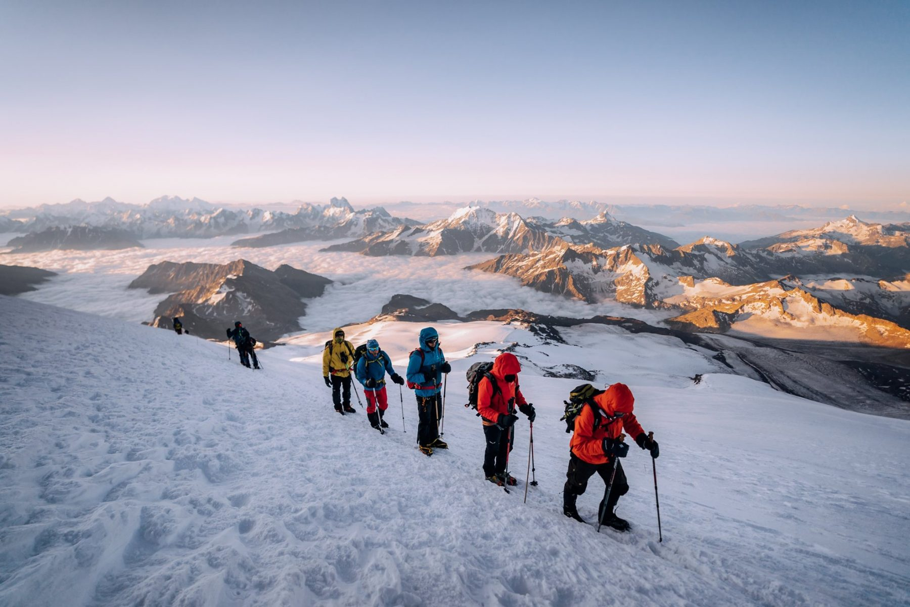 Mount Elbrus Climb expedition
