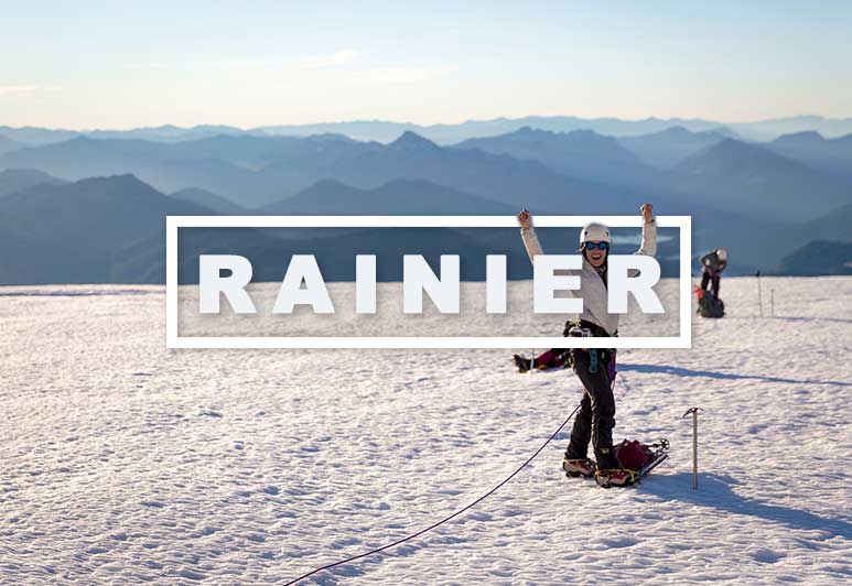 Climb Mt Rainier