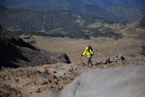 Trekking on Orizaba
