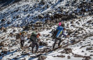 Climbing Orizaba
