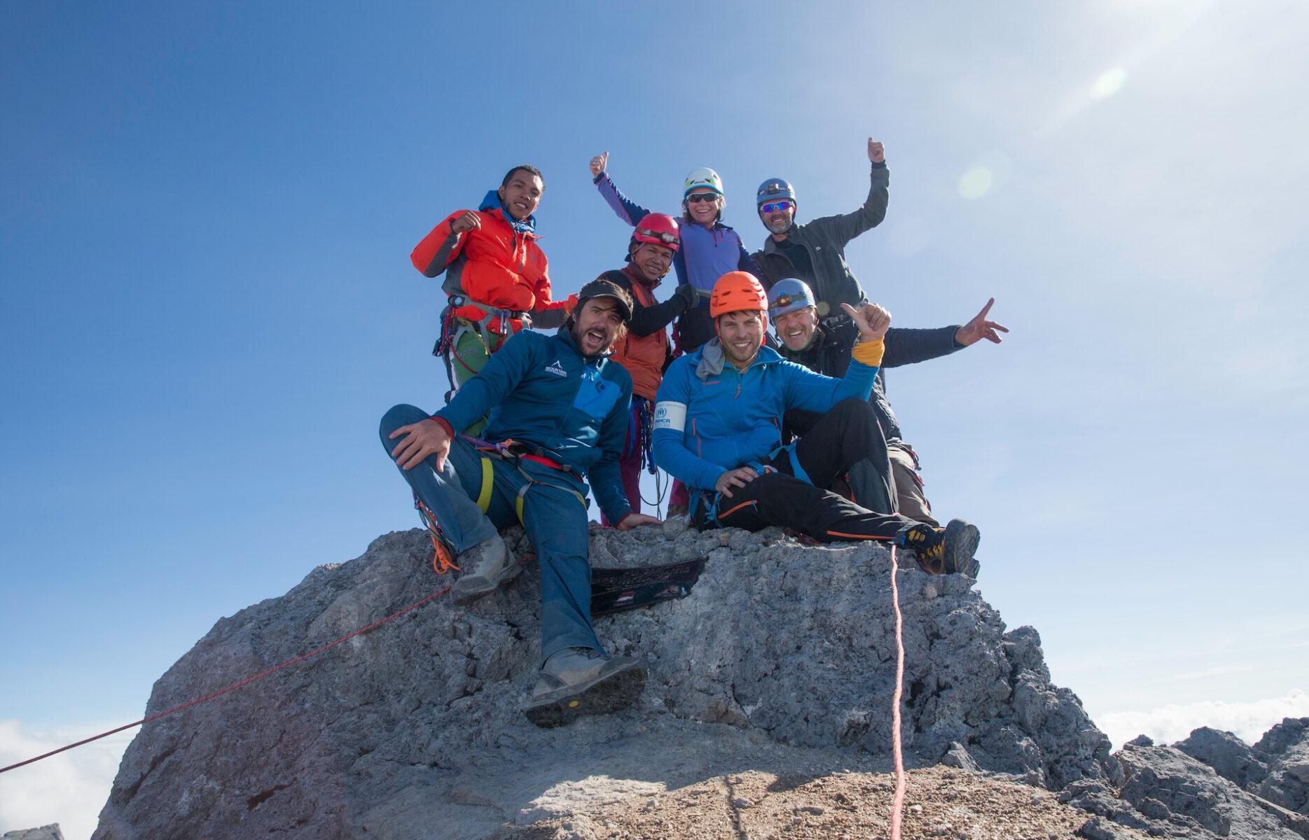 Carstensz Pyramid climb