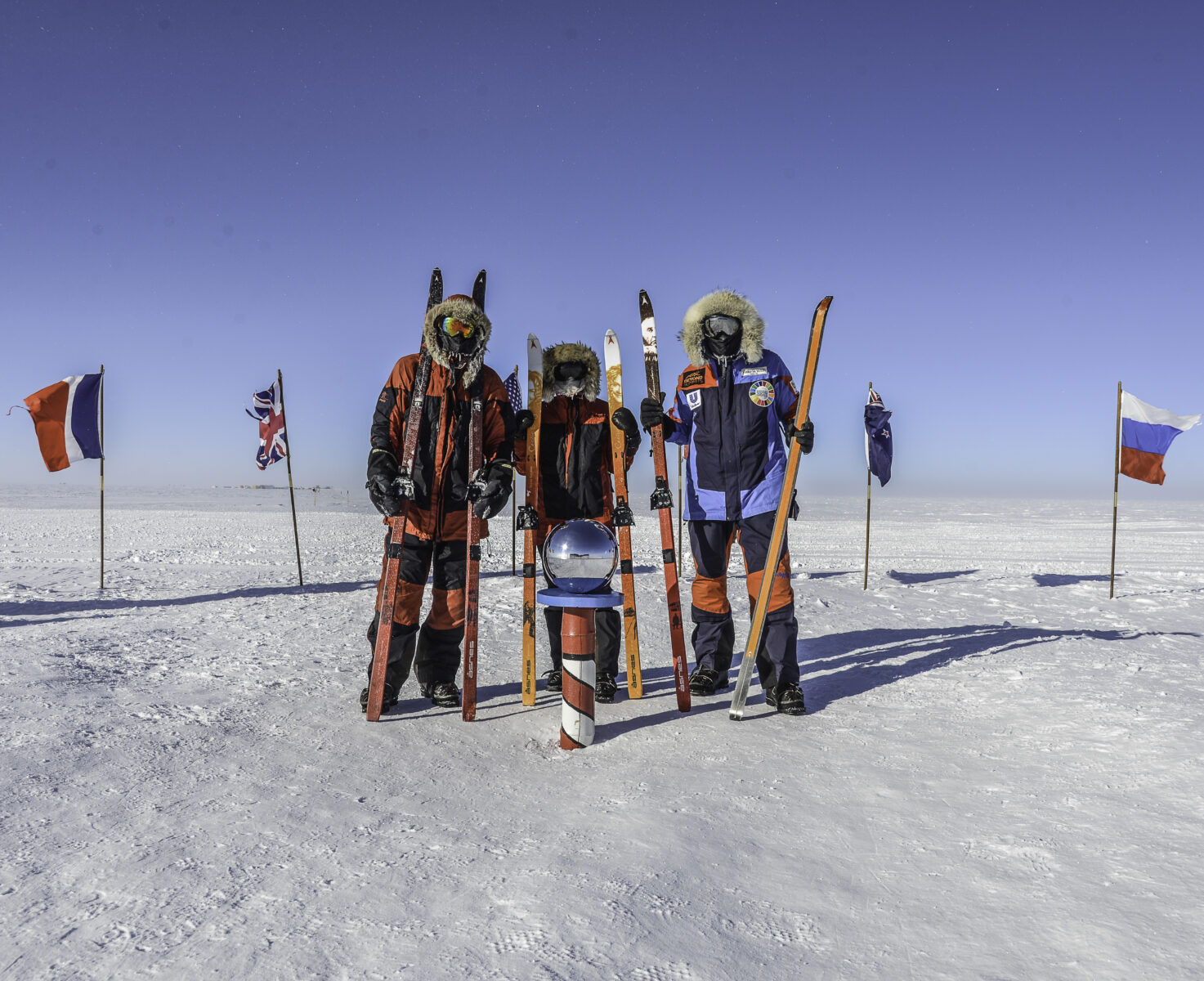 south pole last degree
