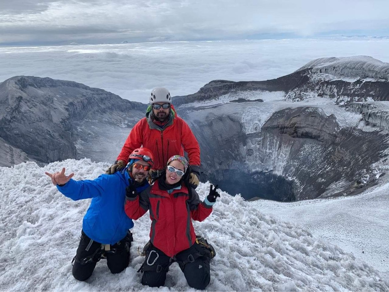 Ecuador climb volcanoes