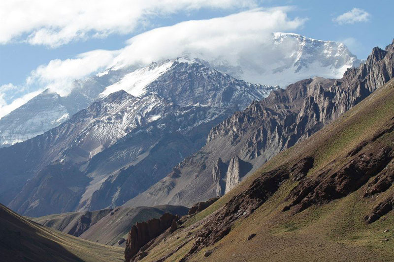 Aconcagua in Cloud