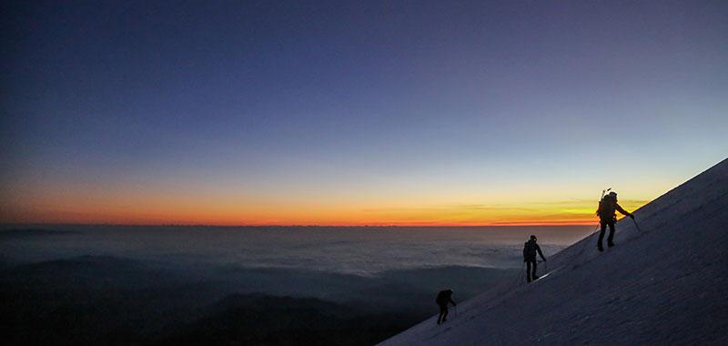 Sunrise on the Orizaba